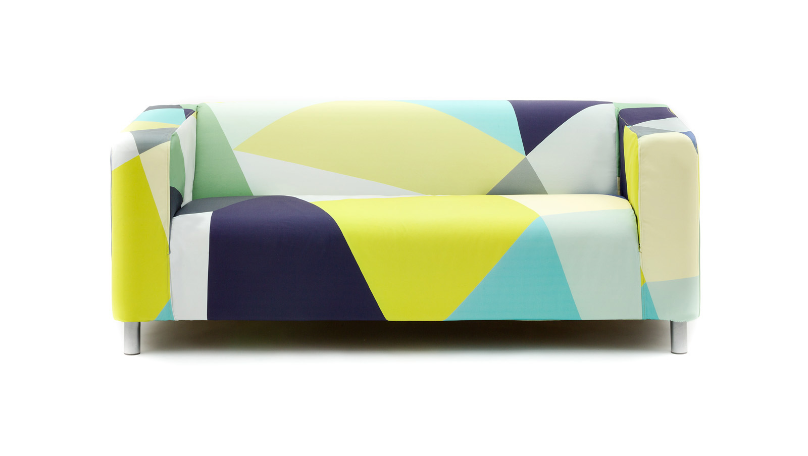 Colorblock ikea klippan sofa cover Klippan loveseat covers